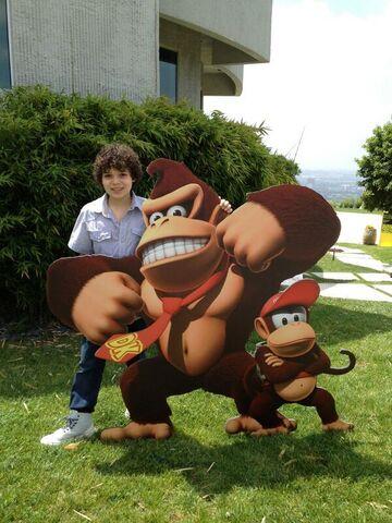 File:Cameron and Donkey Kong.jpg