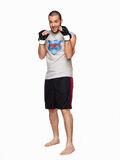 Goomer wearing boxing gloves