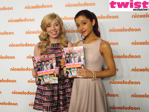 File:Jennette and Ariana at Nick upfront.jpg