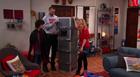 Dice, Goomer and Sam around the box