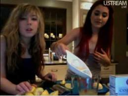 File:Ari and Jenn cooking show.jpg