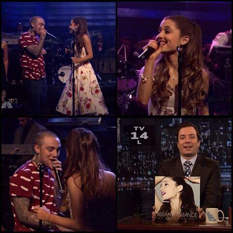 File:Ariana and Mac on Jimmy Fallon June 14, 2013.jpg