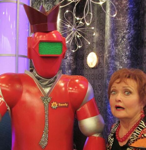 File:Maree Cheatham with a robot.jpg