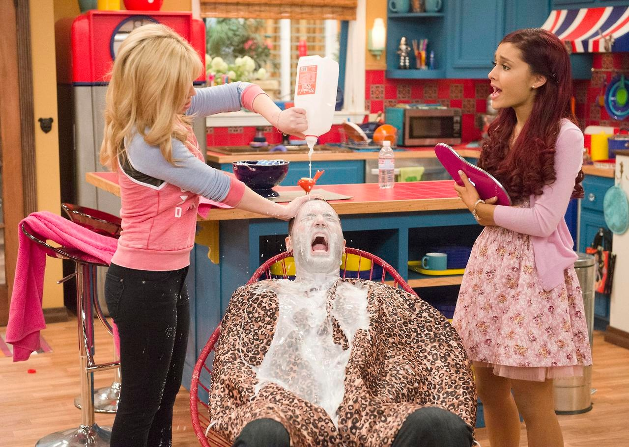 Cat, Goomer, and Sam - GoomerSitting Sam And Cat Wiki FANDOM Powered By Wikia