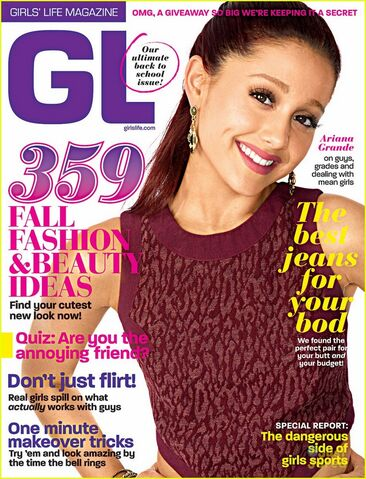 """File:Ariana on the cover of """"Girls Life Magazine"""".jpg"""