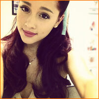 Ariana's picture at her last day as 18