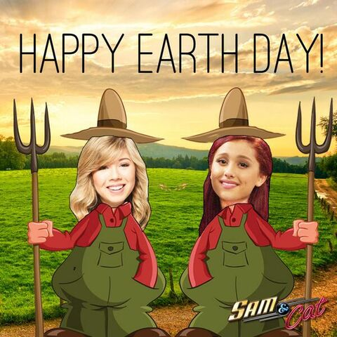 File:Sam and Cat - Happy Earth Day 2013.jpg