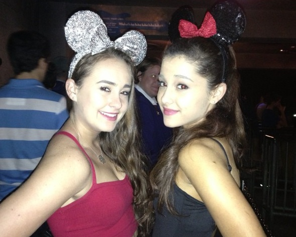 File:Ariana and Alexa Luria with mouse ears.jpg
