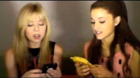 Jennette McCurdy and Ariana Grande livestream - Part 2