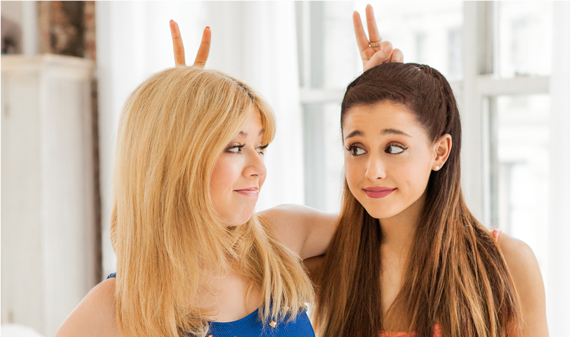 File:Ariana and Jennette at the Nesquik commercial.png