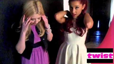 TWIST Exclusive chats with Ariana Grande and Jennette McCurdy