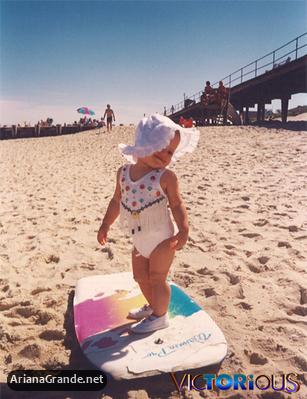 File:Baby Ariana at the beach.jpg