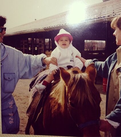 File:Ariana's first time on a horse.jpg