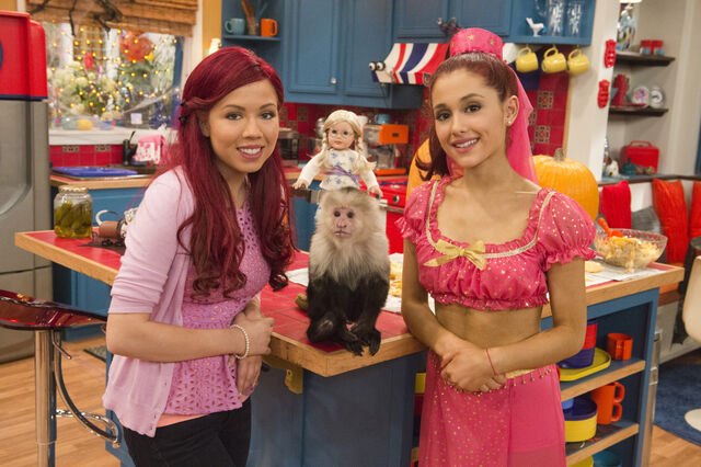 File:Sam and Cat with a monkey and a doll.jpg