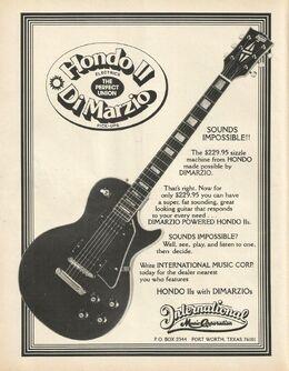 78 hondo II ad June 1978 Guitar Player-0