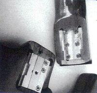 Interlock heel
