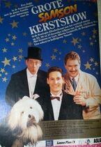 Kerstshow1991 flyer