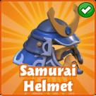 Samurai-helmet