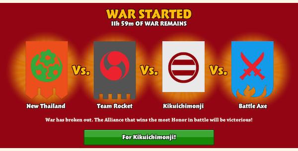 War started