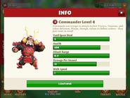 Commander level 4