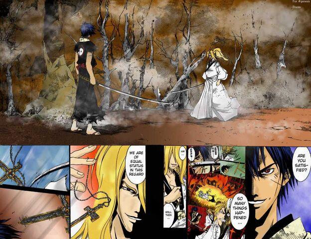 File:Demon Eyes Kyo vs Oda Nobunaga.jpg