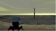 OctoScar look Aku's castle