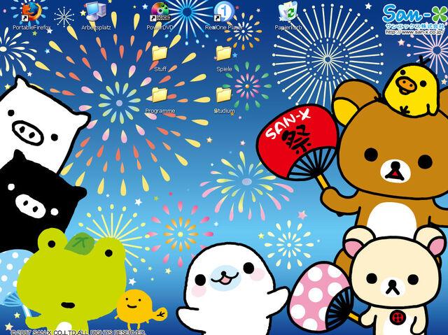 File:San X on my desktop by Crunky.jpg