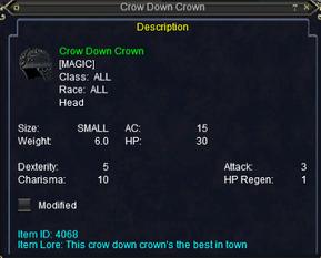 Crow Crown