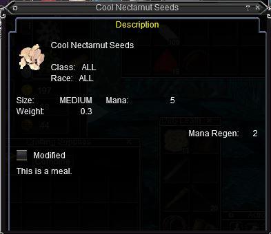 Cool Nectarnut Seeds