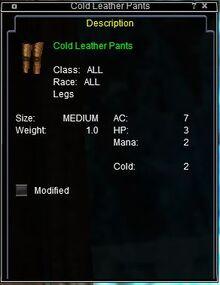 ColdLeatherPants