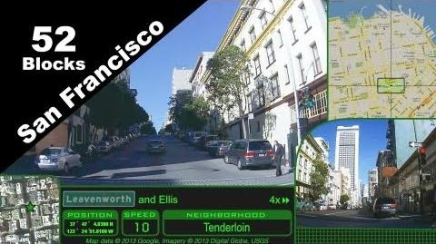Narrated sightseeing drive, 52 blocks of San Francisco