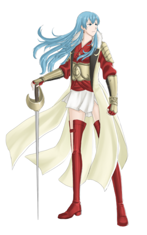 File:Fe queen eirika the swordmaster by emeraldexe-d5ti2yz.png