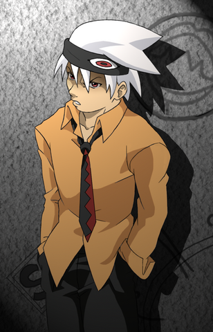 File:Soul Eater Evans by Kayla Chan.png