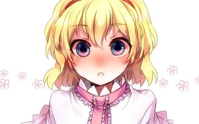 File:Touhou-blue-eyes-short-hair-Alice-Margatroid-anime-girls.jpg