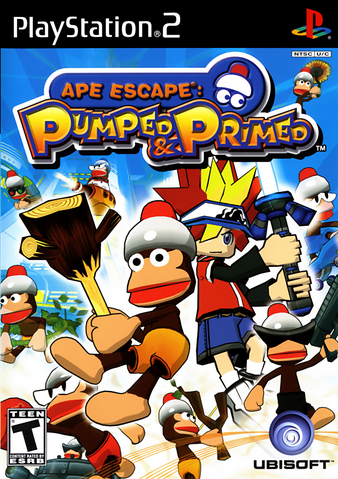 File:Ape Escape Pumped and Primed USA Cover.png