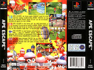 Ape Escape Pal Back Cover