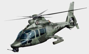 Dauphin based helicopter Harbin Z9
