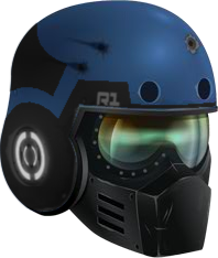 -BLACK- R1 Interceptor Helm