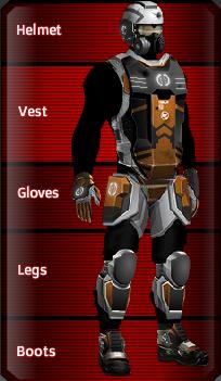 BLACK Titan set