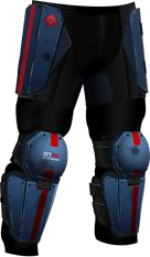 R7 Guardian Pants RED