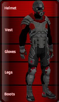 RED Hardplate set