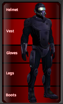 Graphene Armor Full set