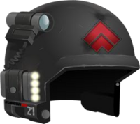 Special Forces Helmet RED