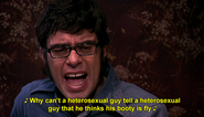 Why can't a heterosexual guy tell