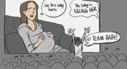 Baby killing bella comic