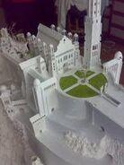 Minas Tirith courtyard