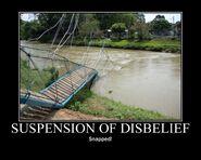 Motiv - suspension of disbelief