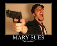 Motiv - mary sue fuck you bitch