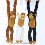 Plush monkeys