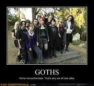 Motiv - Goth nonconformists